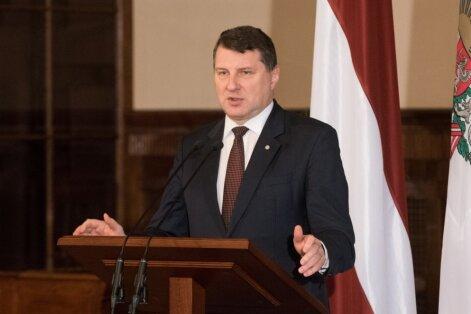 Президент Латвии: Налоговая реформа— одна из важнейших за 25 лет независимости