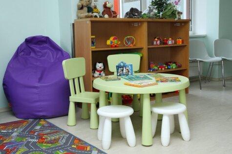 В Детской больнице появился красивый пансионат для детей с особыми потребностями