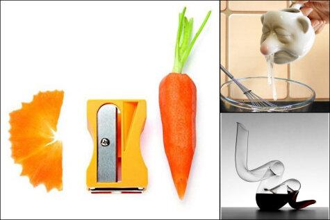 Точилка для морковки и еще 20 странных кухонных гаджетов, которые можно купить