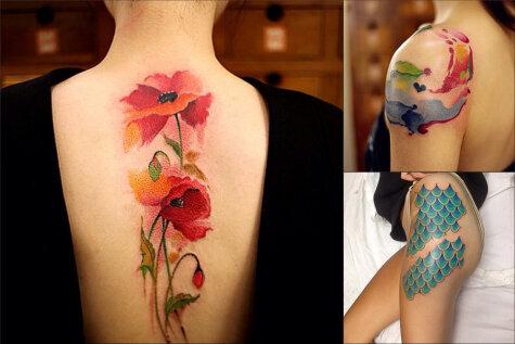 22 яркие татуировки для тех, кто тоже хочет, но пока не знает что