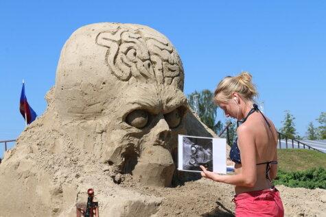 Одним глазом: Что вас ждет на 8-ом Международном фестивале песочных скульптур?