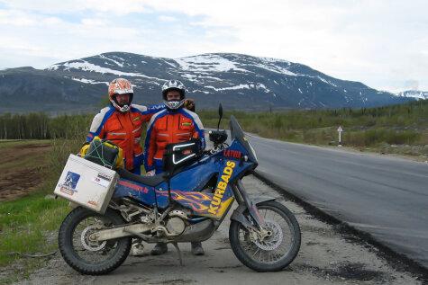 На пути к свободе: как два латыша на мотоциклах покорили Карелию