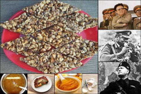 Любимая еда и пищевые привычки семи безжалостных диктаторов