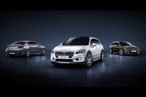 'Peugeot' atjauno '508' modeli