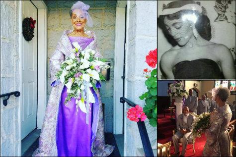Эта 86-летняя невеста и ее наряд дают сто очков форы всем молодым красавицам планеты