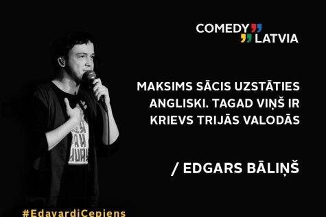 'Comedy Latvia' laiž klajā video, kurā apsmej populāro reperi Edavārdi