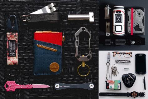 Все свое ношу с собой. ФОТО 16 наборов вещей, с которыми некоторые люди не расстаются