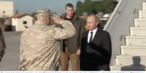 Putins ierodas Sīrijā