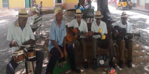 Kubā pat pavāri dejo!