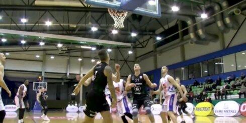 'OlyBet' basketbola līga: 'Valga/Valka-Maks&Moorits' - 'Valmiera glass/ViA'. Spēles labākie momenti