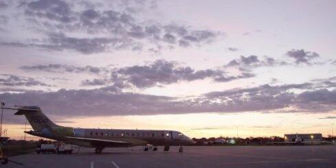 'Bombardier Global 7000' pirmais lidojums