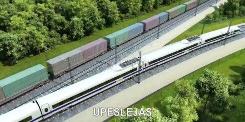 Nevienojas par 'Rail Baltica' trases novietojumu Salacgrīvas novadā