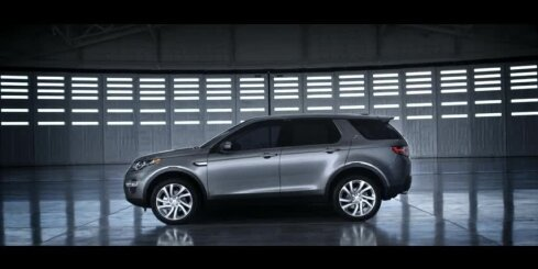 'Land Rover' jaunākais modelis 'Discovery Sport'