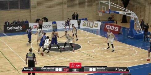 'OlyBet' basketbola līga: 'Betsafe/Jūrmala' - 'Liepāja'. Pilns ieraksts