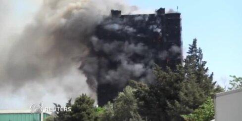 Число жертв пожара в Баку достигло 16 человек