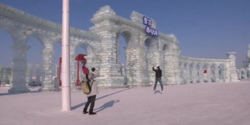 Ķīnā sākas ledus festivāls