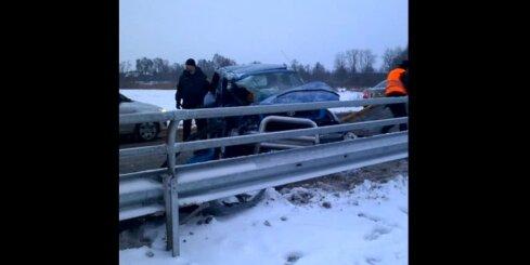 Autoavārija pie Jelgavas