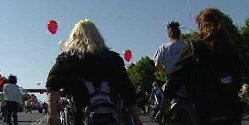 Paralimpiskā izlase gatavojas spēlēm Jaunzēlandē