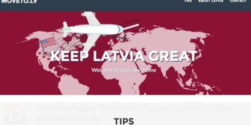 Interneta vietnē ar Trampa ievēlēšanu neapmierinātos aicina pārcelties uz Latviju