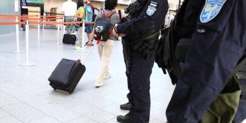 Pēc draudiem uzspridzināt lidmašīnu Tallinas lidostā pastiprināta drošība