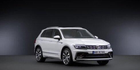 Jaunais 'VW Tiguan' apvidnieks