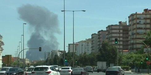 Spānijā nogāzusies militārā lidmašīna