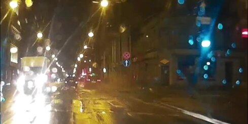 Šļaksteklis Rīgas ielās