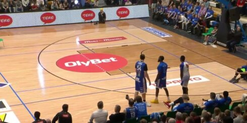 'OlyBet' Zvaigžņu spēle: slam dunk konkurss
