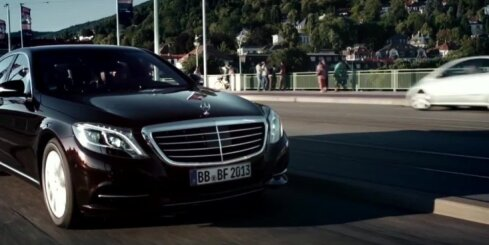 'Mercedes-Benz' demonstrē S-klases bezpilota sistēmu