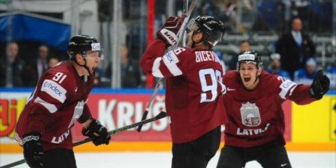 Latvijas hokejisti pasaules čempionātu noslēdz ar spēli pret Norvēģiju