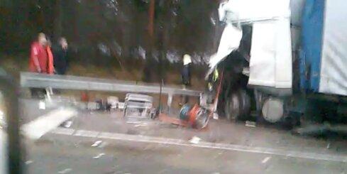 Smaga autoavārija pie Garkalnes
