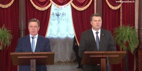 Valsts prezidenta un Ministru prezidenta kopīgā preses konference