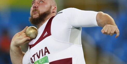 Бергс приносит в копилку Латвии на Паралимпиаде еще одну медаль
