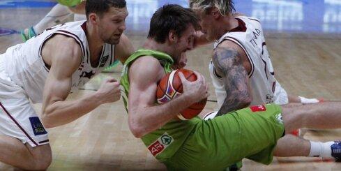 'Eurobasket 2017': Latvija pret Slovēniju spēlēs otrdienas vakarā
