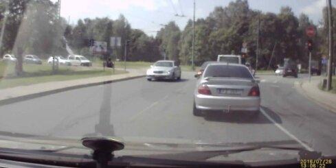 Autoavārija Graudu ielā