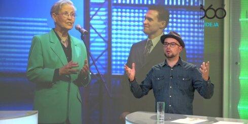 Markuss Riva un Lauris Valters raidījumā 'Vai zini vairāk par Kreipānu'