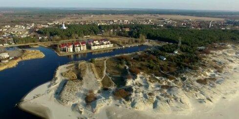 Lietuvas jūras piekraste - drona video