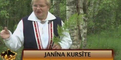 Janīna Kursīte un 'akmens bāba'