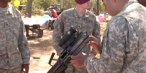 ASV karavīri Ādažos pielāgojas latviešiem