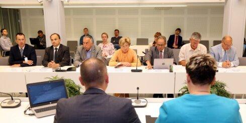 Oligarhu komisijas sēde