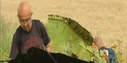 MH17 atlūzas ir bojātas, atklāj EDSO pārstāvis