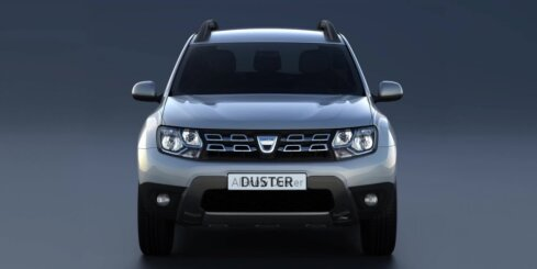 Jaunā 'Dacia Duster' apvidnieka dizains
