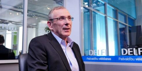 'Delfi TV ar Jāni Domburu': partiju līderi – pilna intervija ar Andri Piebalgu