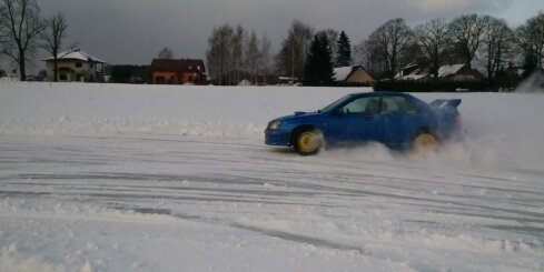 Ledus trase Jaunmārupē