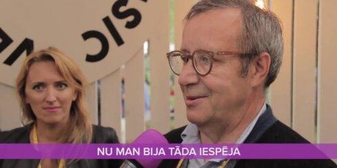 Igaunijas prezidents Ilvess pastāsta, kāpēc Vējonis nebija uz 'Positivus'