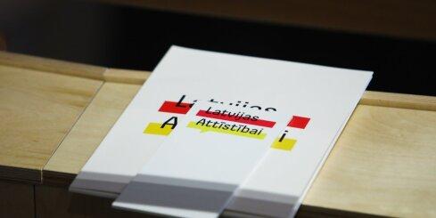 'Latvijas attīstībai' grib trīs partijas līdzpriekšsēdētājus viena priekšsēdētāja vietā