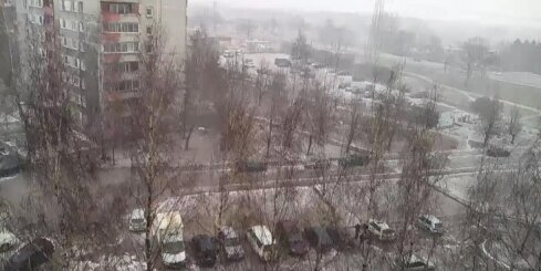 Sniegputenis Mežciemā