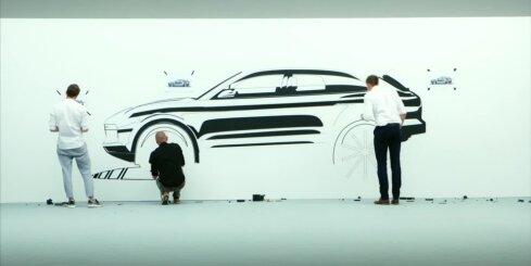 Jaunās paaudzes 'Porsche Cayenne'