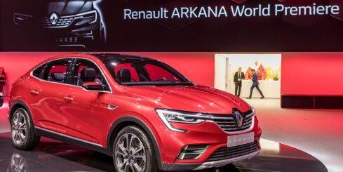 'Renault Arkana' apvidnieka prezentācija Maskavā