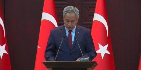 Turcija sākusi uzlidojumus 'Islāma valsts' pozīcijām Sīrijā